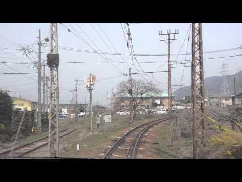 Trains of Japan | Nagano Dentetsu line from Nagano station to Yudanaka station FULL