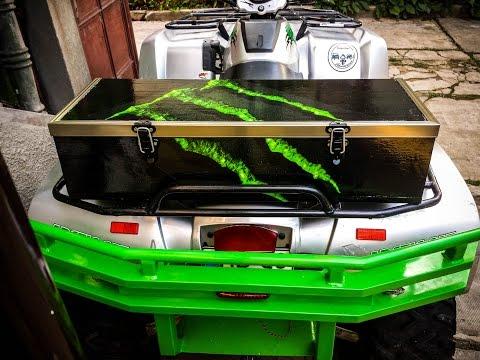 Homemade ATV Cargo Box