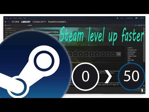 Steam Level Up Faster