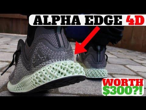 WORTH $300?! ALPHAEDGE 4D FUTURECRAFT: First Look Impressions & On Feet