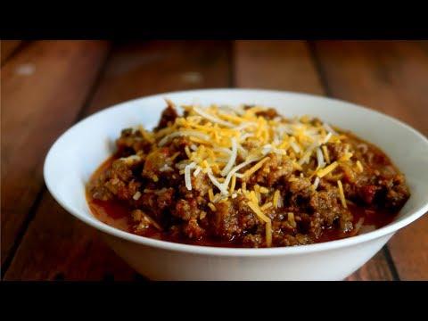 Keto Recipe - Low Carb Chili Con Carne