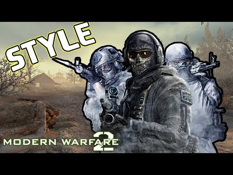 Call Of Duty Modern Warfare 2 ( Killing Shepherd With A Badass Song ) WITH STYLE