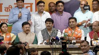 Former AAP leader Kapil Mishra joins BJP
