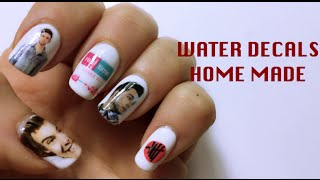 NAIL DECALS TUTORIALHOMEMADE USEMagazine - How to make nail decals at home