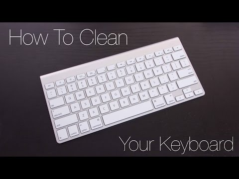 Quick Tips: How to Clean Your Macbook or Apple Keyboard