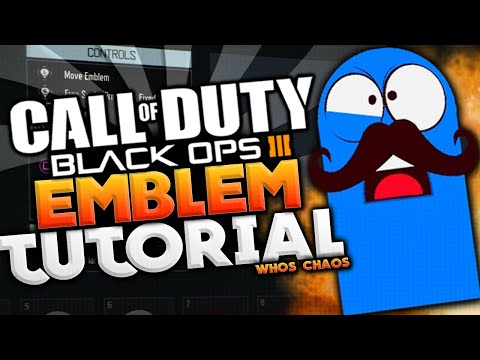 BO3 EMBLEM TUTORIAL!! - BLOO (Black Ops 3 Whos Chaos Emblem)