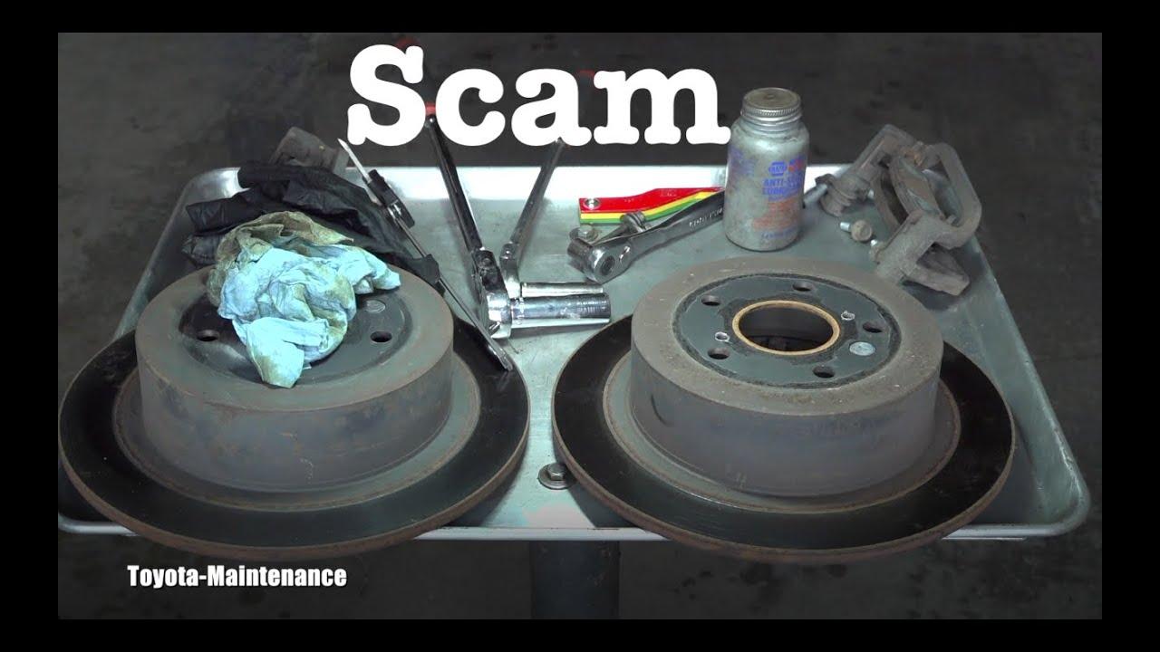 Brake Repair Scam
