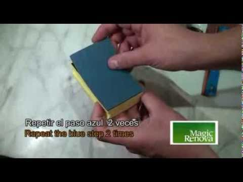 Marble restorer kit - countertops polishing and renovation -