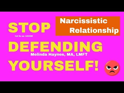Stop Defending Yourself with the Narcissist || Therapist Perspective || Can We Talk? #47