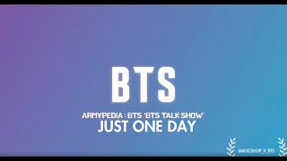 Download BTS - ARMYPEDIA TALK SHOW (Live Band Ver.) | Just One Day (하루만) Video