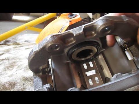 Chevy Blazer Brake Caliper Installation - Disk Brake Repair Part 2