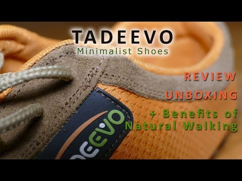 TADEEVO MINIMALIST SHOES - Review, Unboxing and Healthbenefits