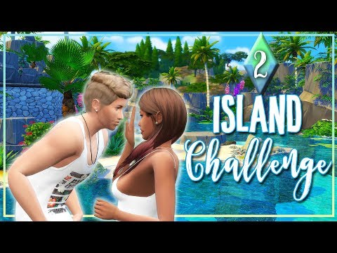🌴ISLAND CHALLENGE 🌴The Sims 4 #2- Dis Tew Much 😡