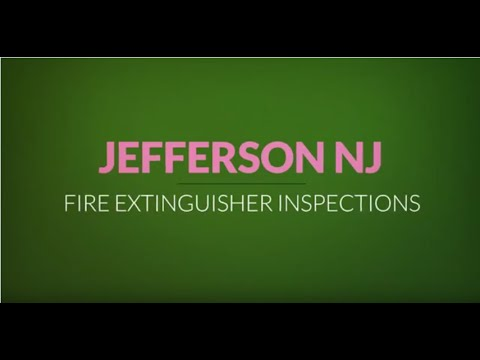 Jefferson Fire Extinguisher Inspections