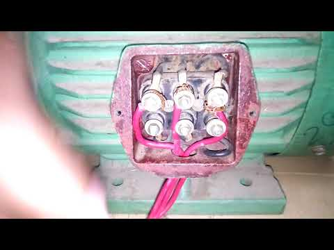 three phase two speed motor connection. how to connect two speed motor