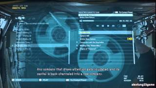 Metal Gear Solid 5 Phantom Pain - Full Story Version (part 11 Tape At Mother Base)