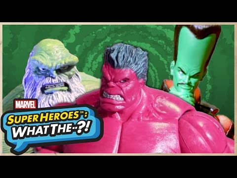 The Red Hulk (For Your Consideration) - Marvel Super Heroes: What The—?!