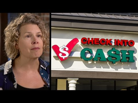 How Payday Lenders & Check Cashers Help the Poor