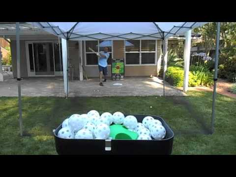 Chris Demos Backyard Batting Cage