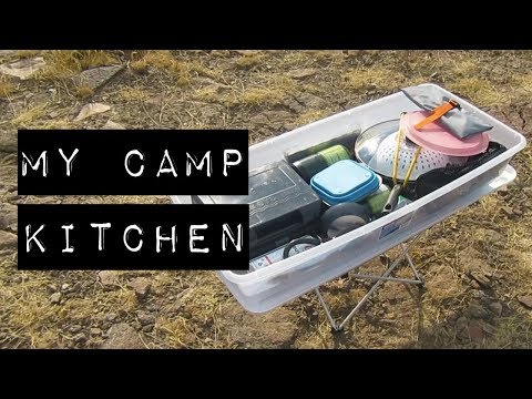MY CAR CAMPING KITCHEN (Cheap Vandwelling/Overlanding Cooking Setup)