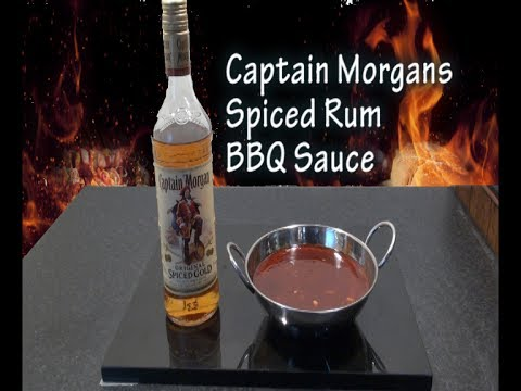 Captain Morgans Spiced Rum Barbeque Sauce Recipe - The BBQ Chef