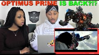 Transformers: The Last Knight Official Trailer REACTION!!!