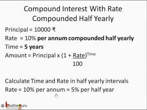 Maths - How compound interest works and how to calculate compound interest: - English