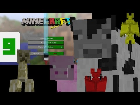 Minecraft - Add Random Alternate Mob Textures! (Resource Pack Tutorial)