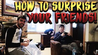 how to surprise your friends x games day 1