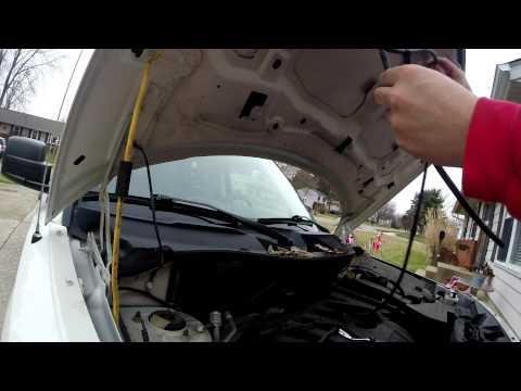 2008 jeep patriot windshield wiper nozzle replacement & hose