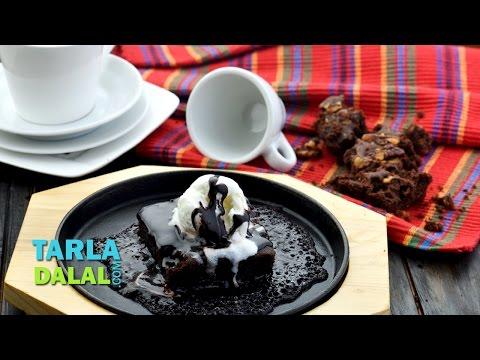 Sizzling Brownie by Tarla Dalal