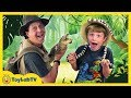 Awesome Gators Amazing Reptiles At Wildlife Park Kids Family Fun Playground Surprise Toys Hunt