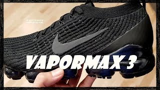 outlet store 20832 460cf VaporMax 3 Blacked Out  On-feet and Commentary
