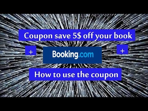 Booking.com coupon save 5$ off your book