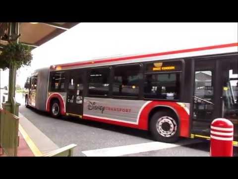 Inside Walt Disney World's New Articulated Bus