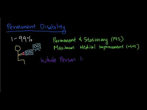 California Workers' Compensation - Permanent Partial Disability (PPD)