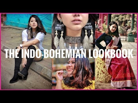 THE INDO-BOHO LOOKBOOK | Bohemian Inspired Outfit Ideas | ThatQuirkyMiss