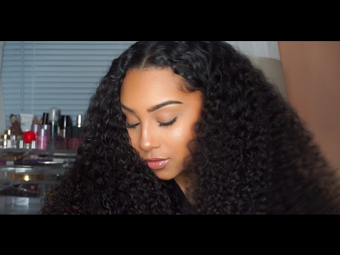 How I Take Care of My Curly Hair Routine| NayaVista Review | TheAnayal8ter