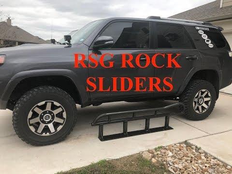 5th Gen 4Runner Rock Sliders - RSG Offroad Slider Unboxing - S2E46