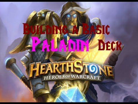 [Hearthstone] Beginner's Guide - Building a Basic Paladin Deck