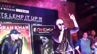 Bohemia showing respect babbu maan gurdass maan and apologize