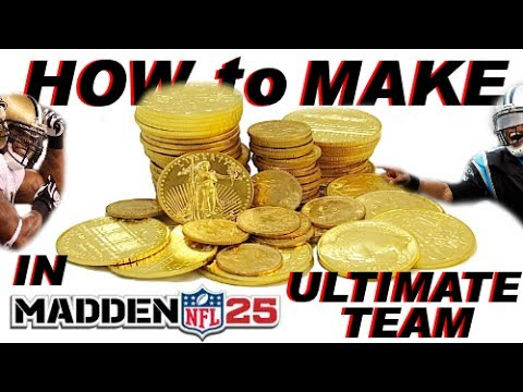 How to Make Coins in Madden NFL 25 Ultimate Team