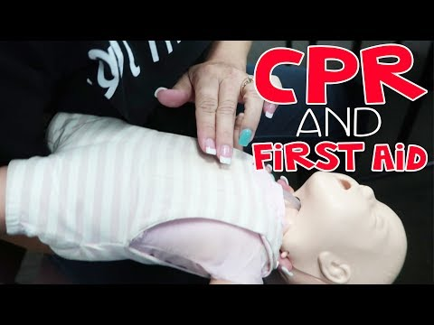 CPR and First Aid Certified | Teacher Vlog