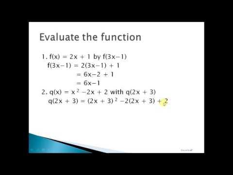 Gen.Math: Evaluation of Function Tagalog Tutorial