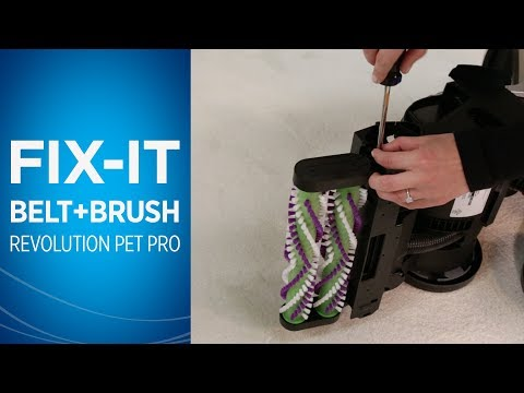 How to change the Belts and Brush Roll on ProHeat 2X® Revolution™ Pet Pro | BISSELL