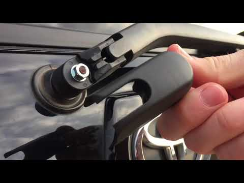 Replacing Rear Wiper Cap And Nut On A Toyota 4Runner
