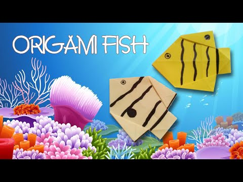 Origami Easy - Origami Fish - Butterflyfish