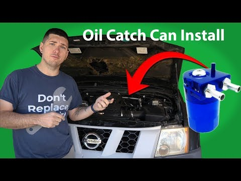 How to Install an Oil Catch Can Into Your Car