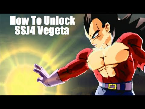 DBZ: Budokai 3 - How To Unlock SSJ4 Vegeta + Gogeta (Super Saiyan 4 Vegeta)