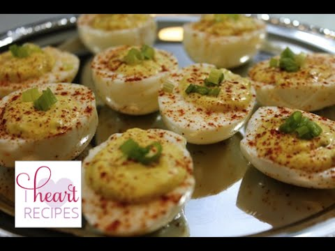 How to Make Easy Delicious Deviled Eggs - I Heart Recipes